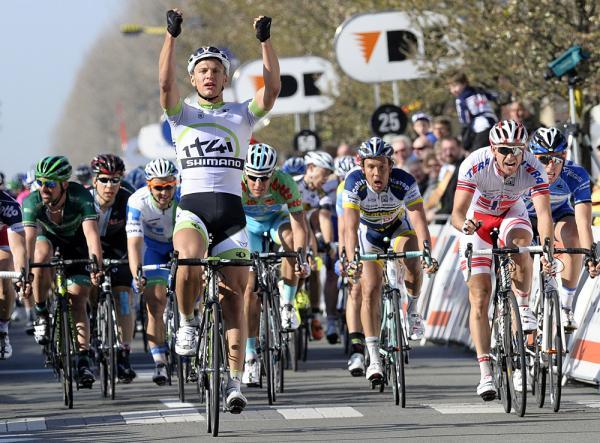Kittel fa sua la seconda frazione della corsa a tappe belga (foto Bettini)