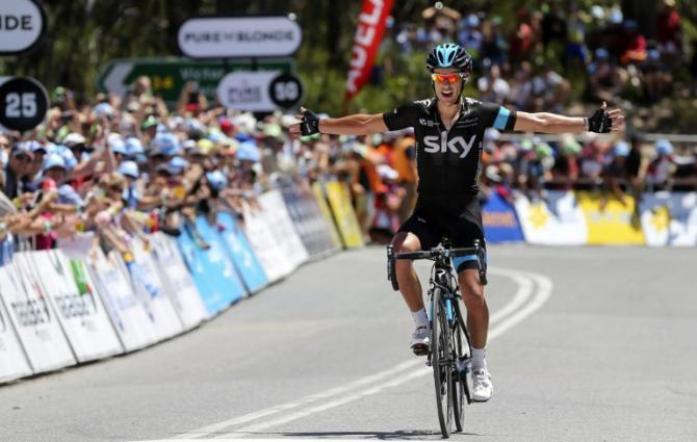 Porte conquista il Tour Down Under sulla cima della Willunga Hill (foto AFP)