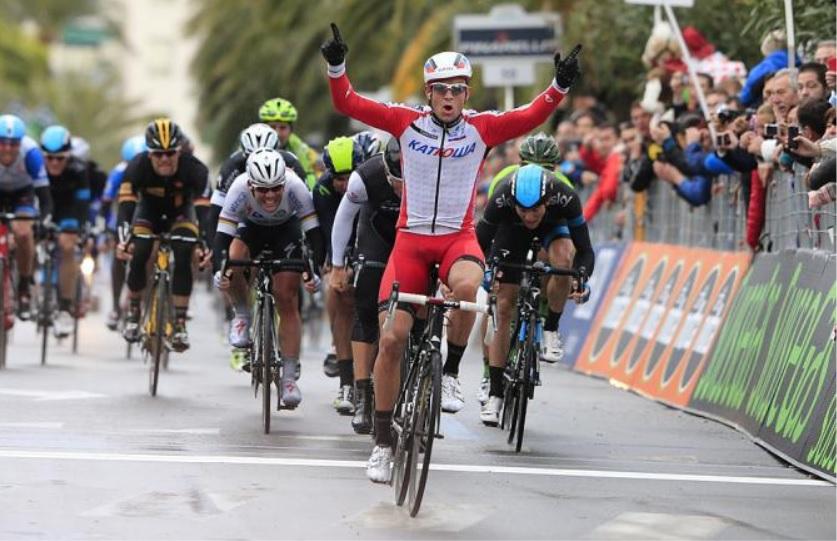 Kristoff si impone nella 105a edizione della Milano - Sanremo (foto Bettini)
