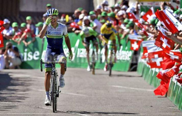 Dopo il Giro dItalia, la Colombia lascia il segno anche al Tour de Suisse (foto Bettini)
