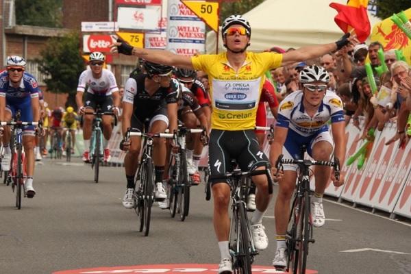Gianni Meersman conquista la quinta tappa e la classifica finale del Giro di Vallonia (foto trworg.be)
