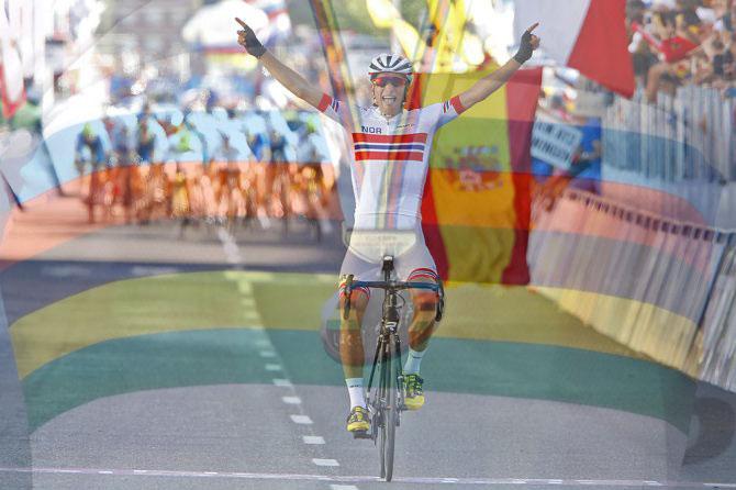 Bystrom riporta in Norvegia il titolo tricolore per gli U23 (foto Bettini)