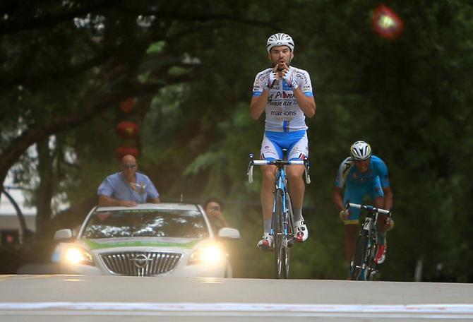 Antomarchi fa il bis nella tappa regina del Tour of Hainan (foto Guoqiang Song)