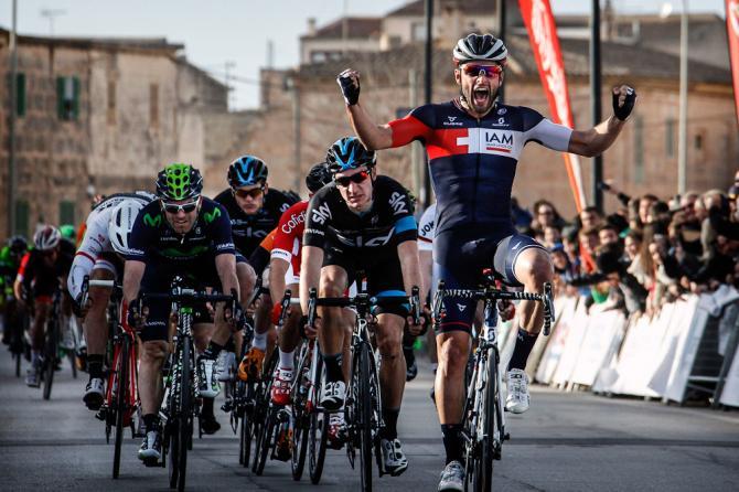 Pelucchi trionfa nella prima prova della challenge maiorchina (foto Bettini)