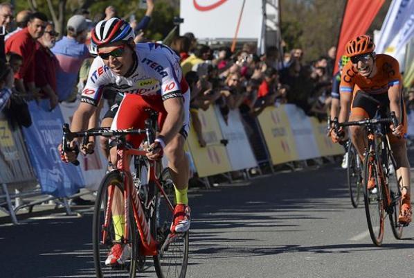 Il russo Chernetskiy vince la penultima tappa del Giro della Catalogna (foto Tim de Waele/TDWSport.com)