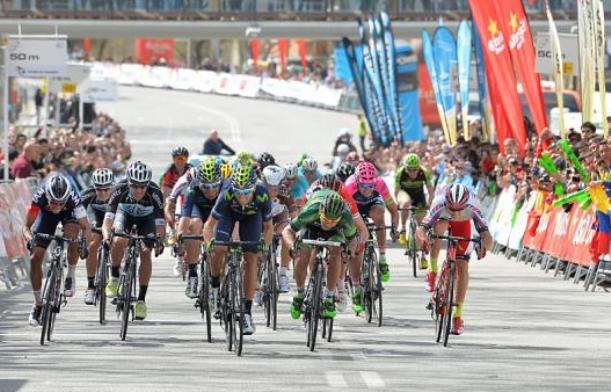 Valverde si accontenta della vittoria di tappa nellultima tappa del Giro della Catalogna (foto Tim de Waele/TDWSport.com)