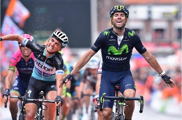 La gioia di Valverde e il disappunto di Alaphilippe allarrivo di Ans (foto Tim De Waele/TDWSport.com)