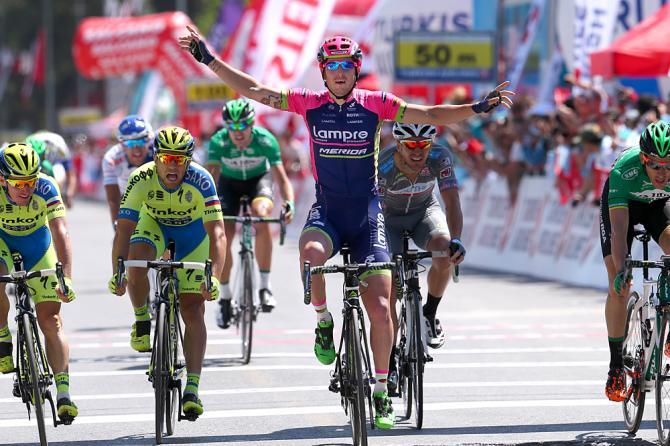 Con Sacha Modolo Pamukkale si conferma solida roccaforte italiana al Giro di Turchia (foto Tim de Waele/TDWSport.com)