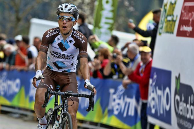 Pozzovivo conquista lultima tappa di vera montagna del Giro del Trentino 2015 (foto Bettini)