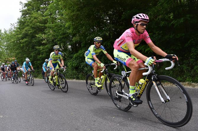 Obbiettivi puntati su Contador, osservato speciale della settima frazione del Giro 2015 (foto Tim de Waele/TDWSport.com)