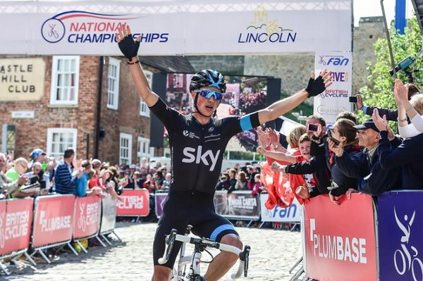 Peter Kennaugh si conferma campione britannico
