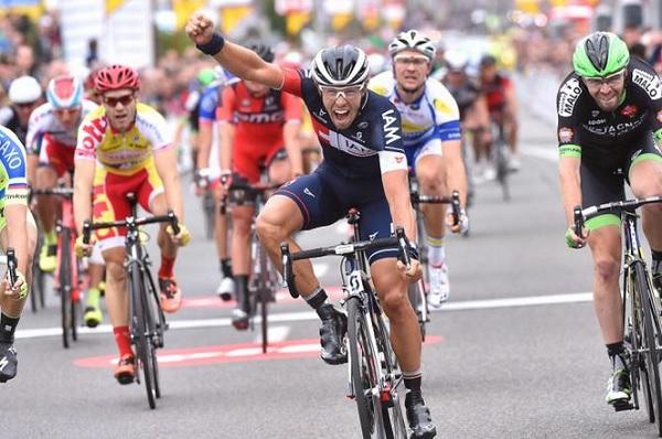 Van Genechten anticipa tutti (foto Tim De Waele/TDWSport.com)