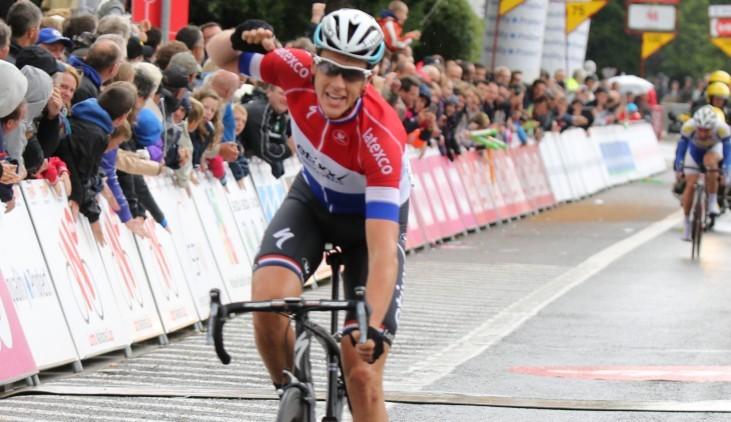 Niki Terpstra conquista la tappa dapertura del Giro di Vallonia (www.trworg.be)