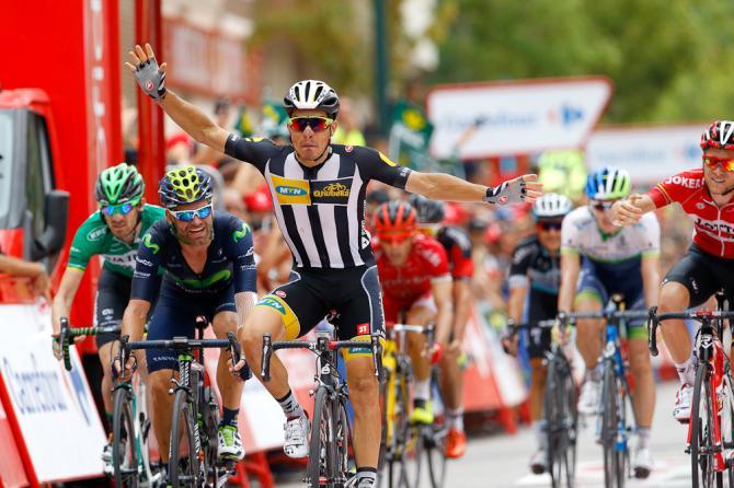 In quel di Castellón Kristian Sbaragli regala allItalia il primo successo alla Vuelta a España 2015 (foto Bettini)
