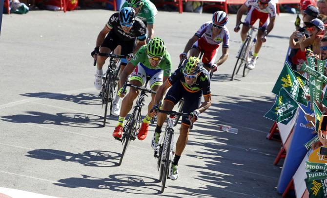 Valverde espugna la collina di Vejer de la Frontera e fa sua la 4a tappa del Giro di Spagna 2015 (Getty Images)