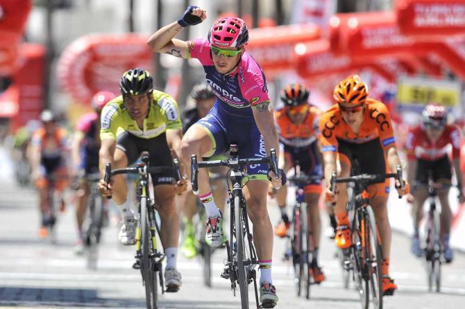 Sacha Modolo concede il bis al Giro di Turchia (foto Brian Hodes)