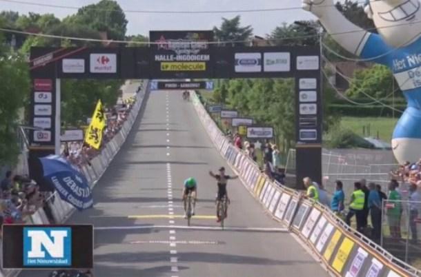 De Bondt vince la semiclassica belga Halle - Ingooigem
