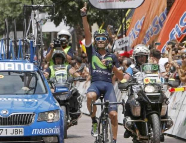 Rojas vince la prova di Alicante, forse la più interessante tra le gare riservate ai campionati nazionali per i segnali mandanti in ottica Tour da Alejandro Valverde (foto EFE)