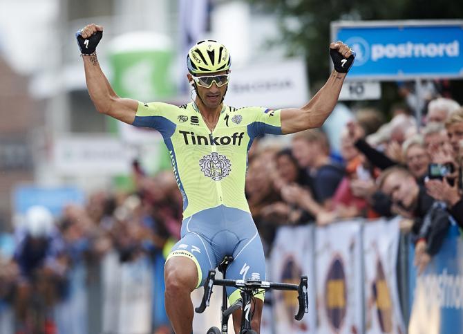 Daniele Bennati trionfa nella prima tappa (foto Getty Images Sport)