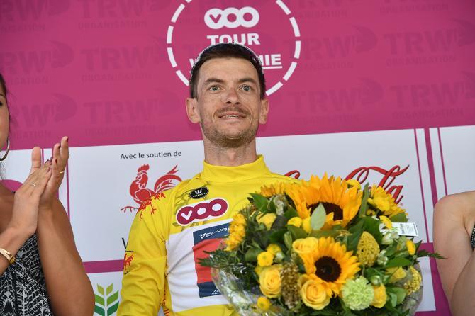 Devenyns incoronato vincitore della 43a edizione del Giro di Vallonia (foto Getty Images Sport)