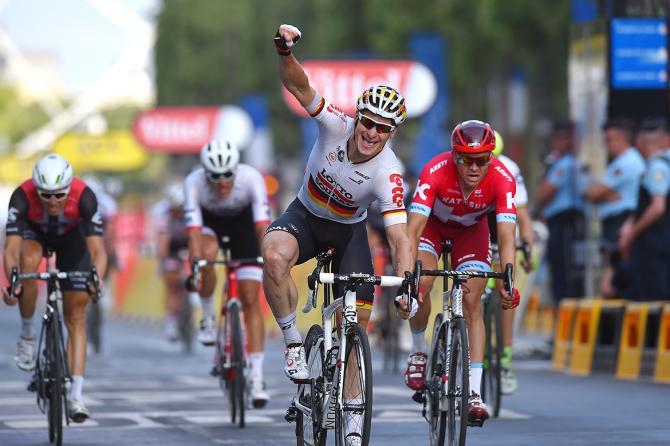 André Greipel brucia Sagan e Kristoff (foto Tim de Waele/TDWSport.com)