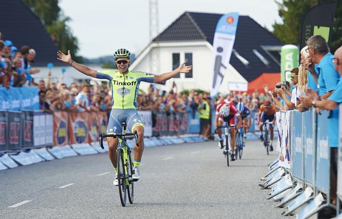 Valgren conquista la terza tappa del Giro di Danimarca (foto Getty Images Sport)