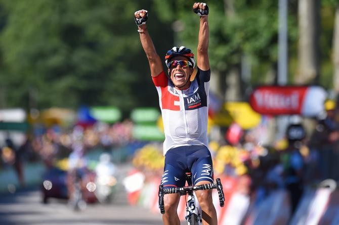 Pantano corona con il successo la fuga nel tappone del doppio Grand Colombier (foto Tim de Waele/TDWSport.com)