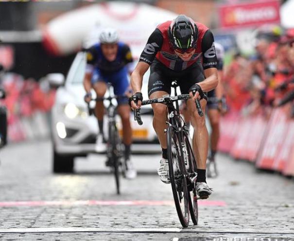 Il norvegese Boasson Hagen vince lultima e decisiva tappa dellEneco Tour 2016 (foto Tim de Waele/TDWSport.com)