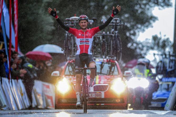 Tim Wellens prolunga la festa in casa Lotto Soudal imponendosi nella prova più impegnativa del Challenge Ciclista a Mallorca (foto Bettini)