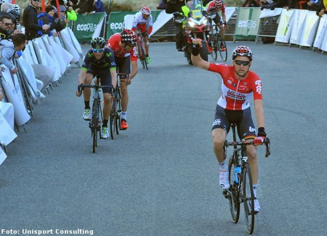 Wellens si ripete e porta in casa Lotto Soudal il terzo successo per la formazione belga nel challenge maiorchino (Unisport Consulting)