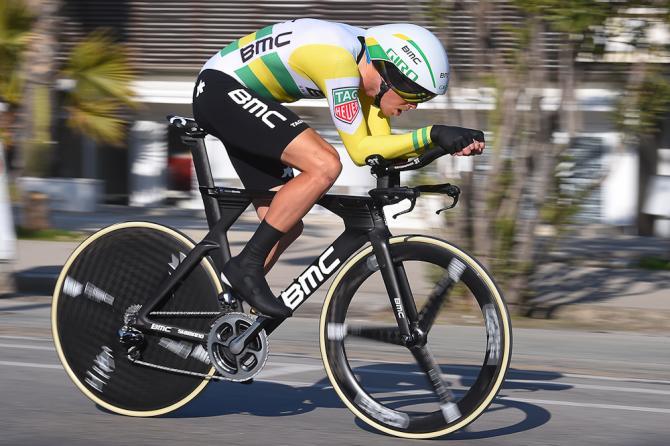 Rohan Dennis, una scheggia in maglia BMC lanciata sulle strade di San Benedetto del Tronto (Tim de Waele/TDWSport.com)