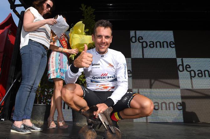 È Philippe Gilbert il vincitore della 41a edizione della Tre Giorni di La Panne, breve corsa a tappe che anticipa di poche ore latteso appuntamento con il Giro delle Fiandre (Tim de Waele/TDWSport.com)