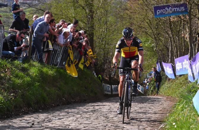 Gilbert confeziona sulle strade delle Fiandre una delle più splendide imprese della sua carriera (Tim de Waele/TDWSport.com