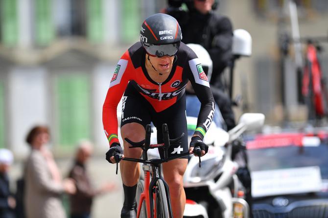 Porte in azione nella conclusiva tappa a cronometro del Tour de Romandie (foto Tim de Waele/TDWSport.com)