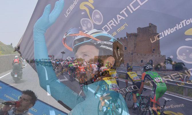 Il Giro lascia anche la Calabria, ma non il ricordo di Scarponi che laccompagnerà sino a Milano (foto Tim de Waele/TDWSport.com)