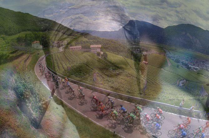 In viaggio verso le Dolomiti, percorrendo le strade solcate dallultima gara terrena di Michele Scarponi (foto Tim de Waele/TDWSport.com)