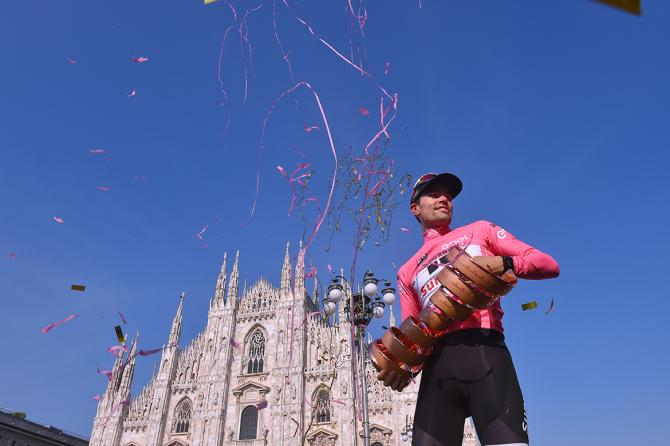 Deposte le armi e vinto il 100° Giro dItalia ora Tom Dumoulin guarda verso il futuro della sua promettente carriera (foto Tim de Waele/TDWSport.com)