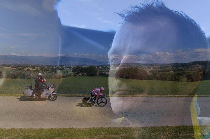 E la tappa che geograficamente arrivava più vicina alla sua Filottrano e Michele Scarponi sembra quasi paternalmente assistervi, nel cuore e nei pensieri di tutti i tifosi (foto Tim de Waele/TDWSport.com)