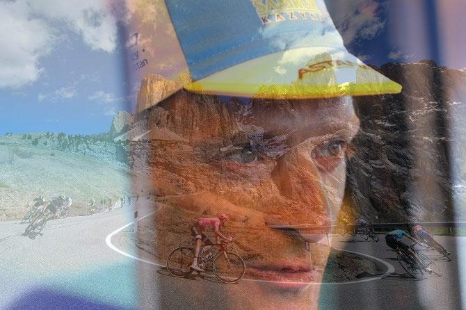 Lo scenario delle Dolomiti questanno se sovrapposto a quello del ricordo delle gesta di Michele Scarponi (foto Tim de Waele/TDWSport.com)