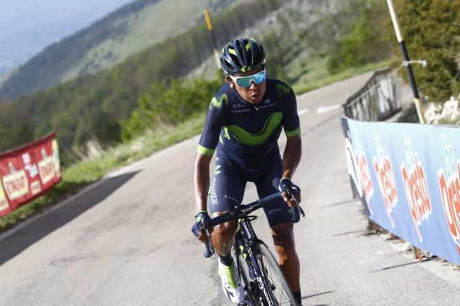 Quintana stende gli avversari sulla più difficile salite del Giro 2017, il Blockhaus (Getty Images Sport)