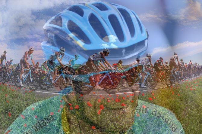 Lungo le scorrevoli strade della Pianura Padana, sempre con il pensiero fisso a Michele Scarponi e ai ciclisti vittime della strada, un fatto ancora di tragica attualità (foto Tim de Waele/TDWSport.com)