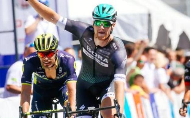 Sam Bennett vince la prima tappa e tira idealmente la volata alla 24a edizione del Giro di Slovenia (foto (Vid Ponikvar/Sportida)