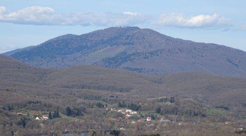 La Planche des Belles Filles, in cima alla quale Ciccone ha conquistato la maglia gialla (wikipedia)