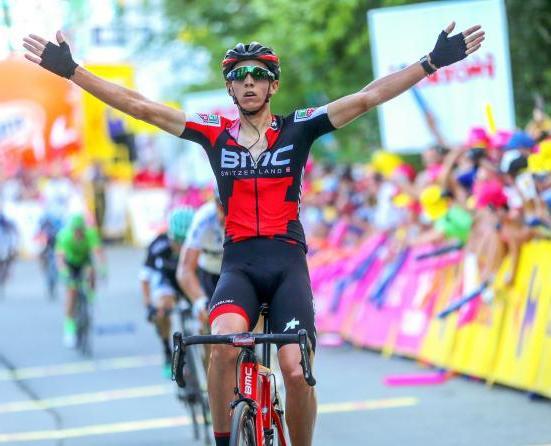 Pochi giorni dppo laffermazione nel Giro della Vallonia il belga Dylan Teuns porta a casa anche la terza frazione del Giro di Polonia (foto Bettini)