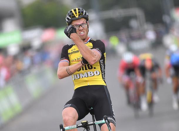 Boom apre... lombrello e vince la prima delle tre frazioni più impegnative del BinckBank Tour (Tim de Waele/TDWSport.com)