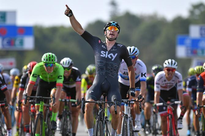 Quarta affermazione in una settimana per Elia Viviani, dopo i successi conseguiti ad Amburgo e al Tour du Poitou-Charentes (foto Tim de Waele/TDWSport.com)