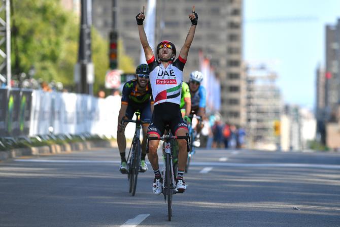 Diego Ulissi dà una decisa sterzata alla sua carriera con la prestigiosa vittoria nella classica di Montréal  (Tim de Waele/TDWSport.com)
