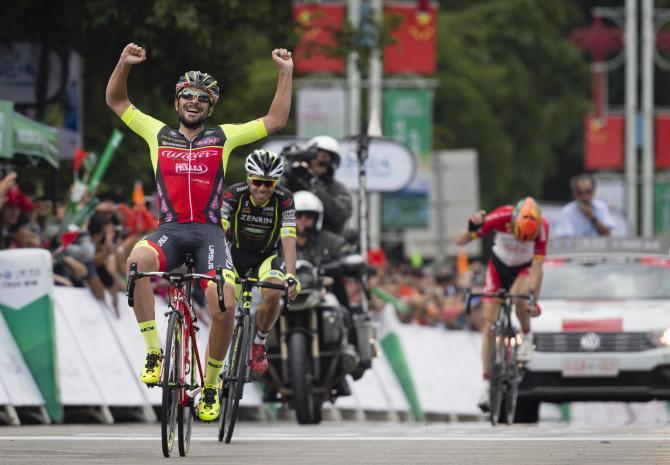 Cambia il nome del corridore ma è sempre la Wilier Triestina a dettar legge al Tour of Hainan (www.tourofhainan.com)