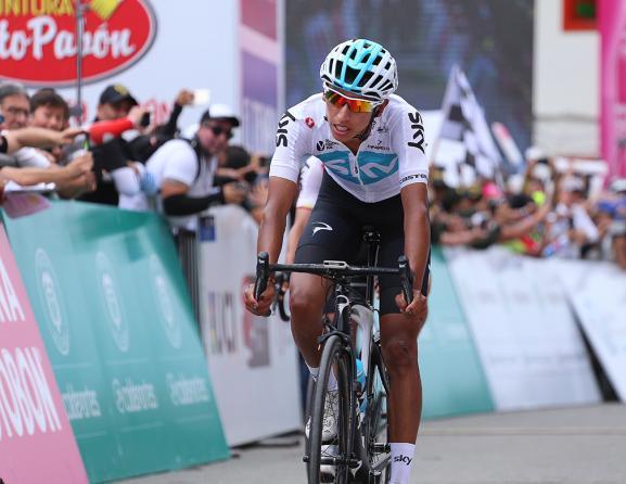 È Egan Bernal (Team Sky) il vincitore della prima edizione della Colombia Oro y Paz (foto Tim de Waele/TDWSport.com)