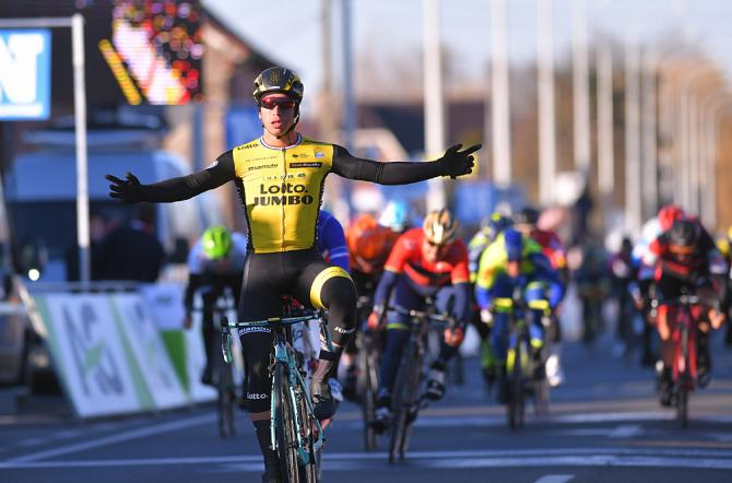 Groenewegen vince ledizione 2018 della Kuurne-Bruxelles-Kuurne (foto Tim de Waele/TDWSport.com)